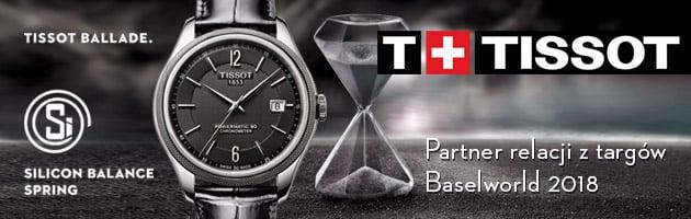TISSOT - partner relacji z targów Baselworld 2018