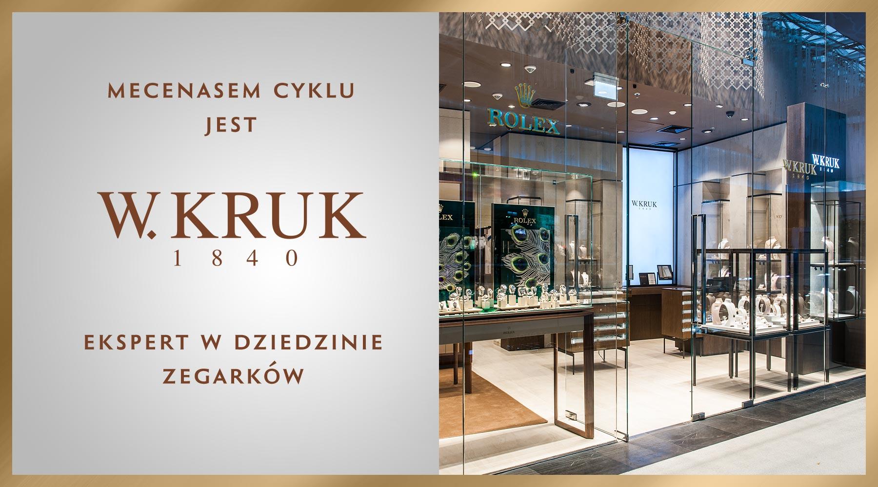 W.Kruk - mecenas cyklu Kultowe Zegarki