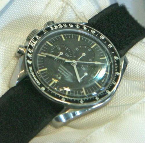 Omega Speedmaster 105.012 należąca do Richarda Gordona biorącego udział w misji Apollo XII.