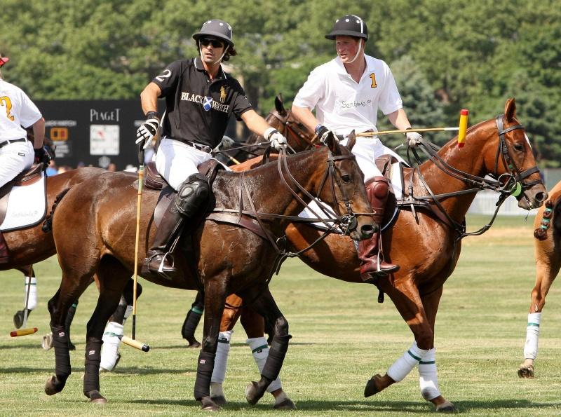 Piaget Polo FortyFive dla drużyny księcia Harrego