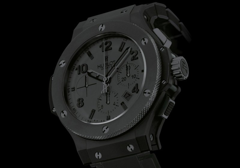 "HUBLOT Big Bang ""All Black II"""