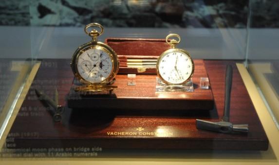 Historyczne modele z muzeum Vacheron Constantin datowane na lata 1901 - 1917
