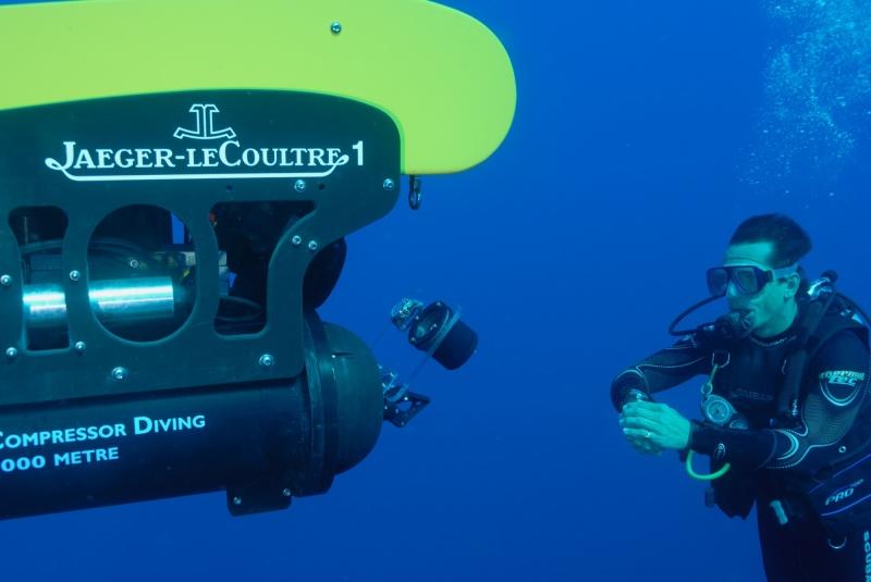 Sprzęt do nurkowania dla zawodowej elity: JLC Master Compressor Diving Navy SEALs