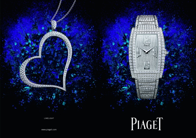 Nowe oblicze reklamy Piaget
