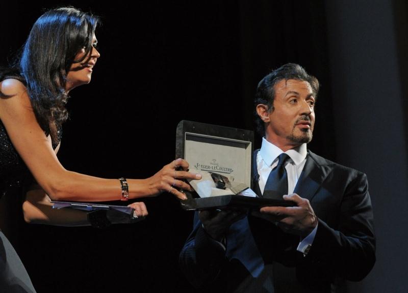 Sylvester Stallone nagrodzony w Wenecji