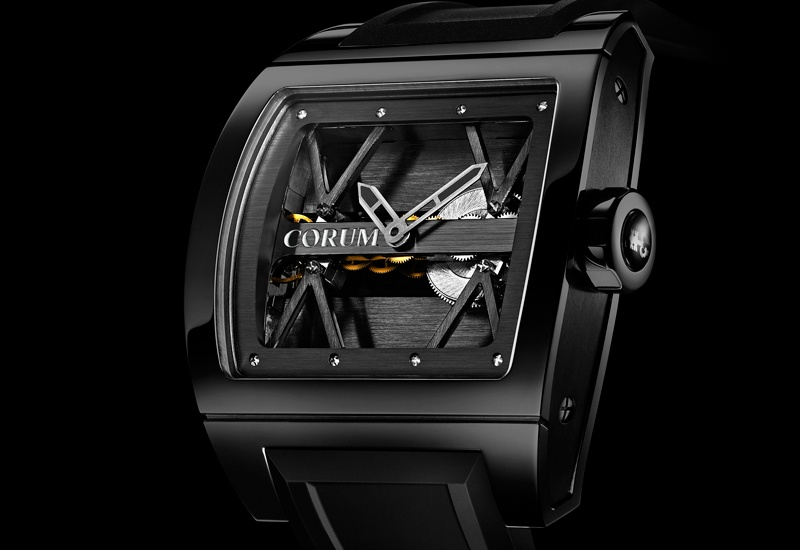 CORUM Black Ti-Bridge