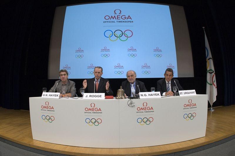 Omega oficjalnym chronometrażystą olimpijskim do 2020 roku.
