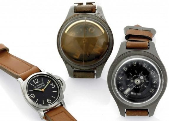 Zegarek, kompas, głębokościomierz dla nurka