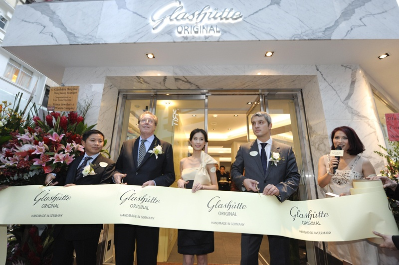 Glashütte Original butik Hong Kong