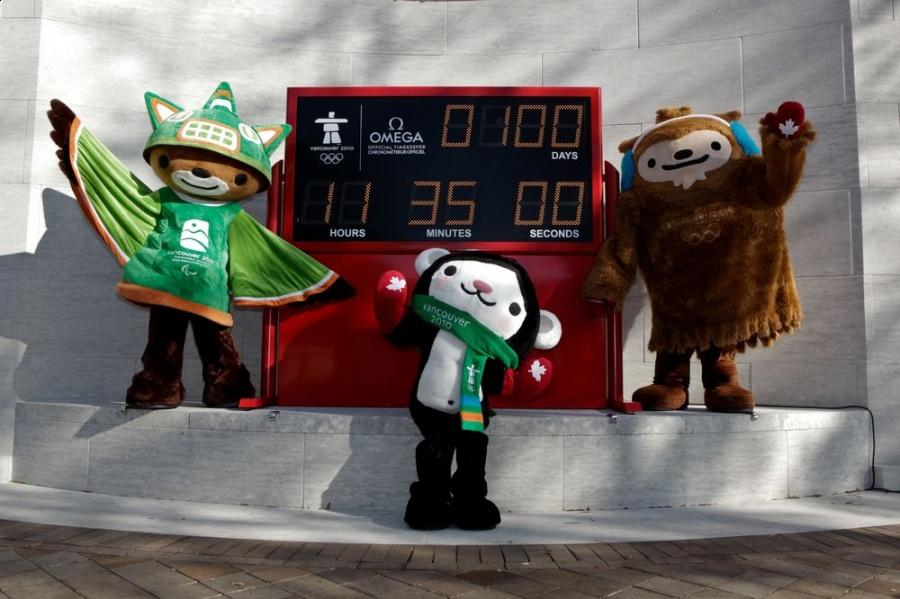 Wielkie odliczanie do Igrzysk Olimpijskich 2010