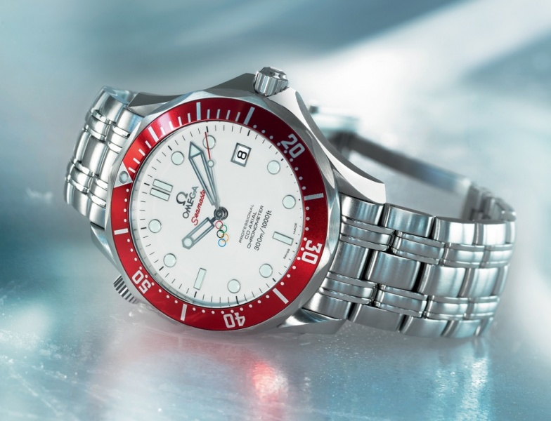 OMEGA Seamaster Diver 300m Vancouver 2010 Limited Edition