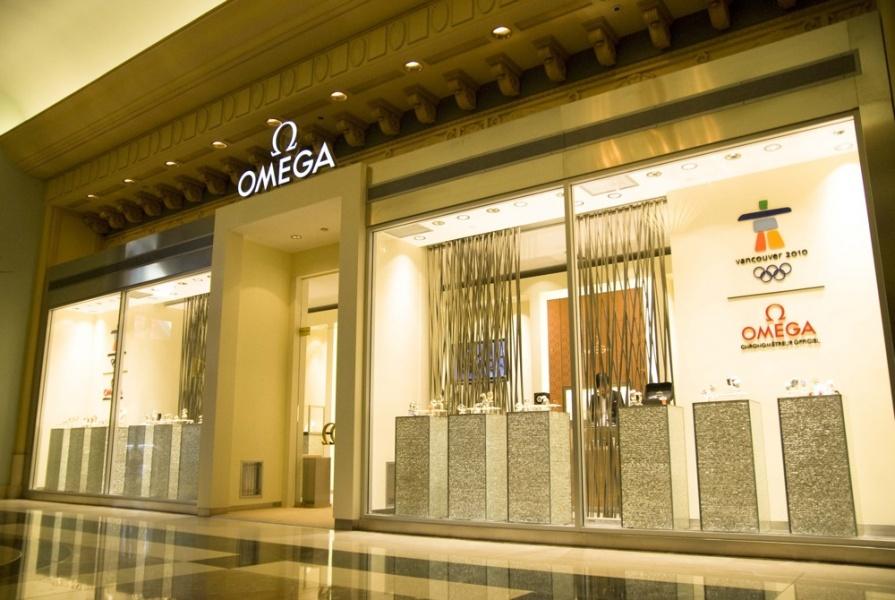 Nowy butik OMEGA (Vancouver)
