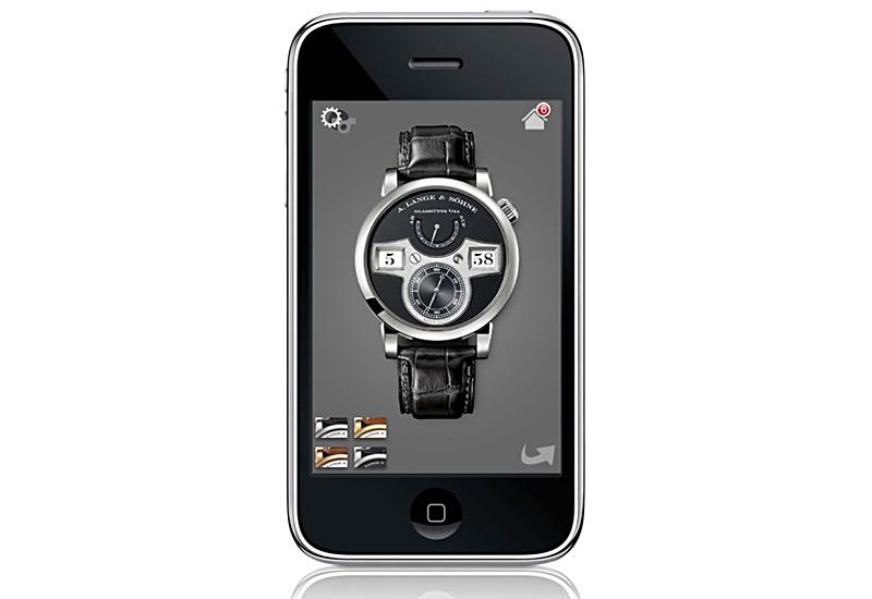 LANGE Zeitwerk iPhone