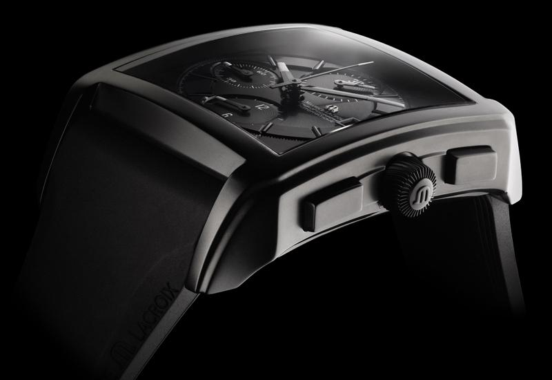 BASEL 2010: ML Pontos Chronograph Rectangulaire Full Black