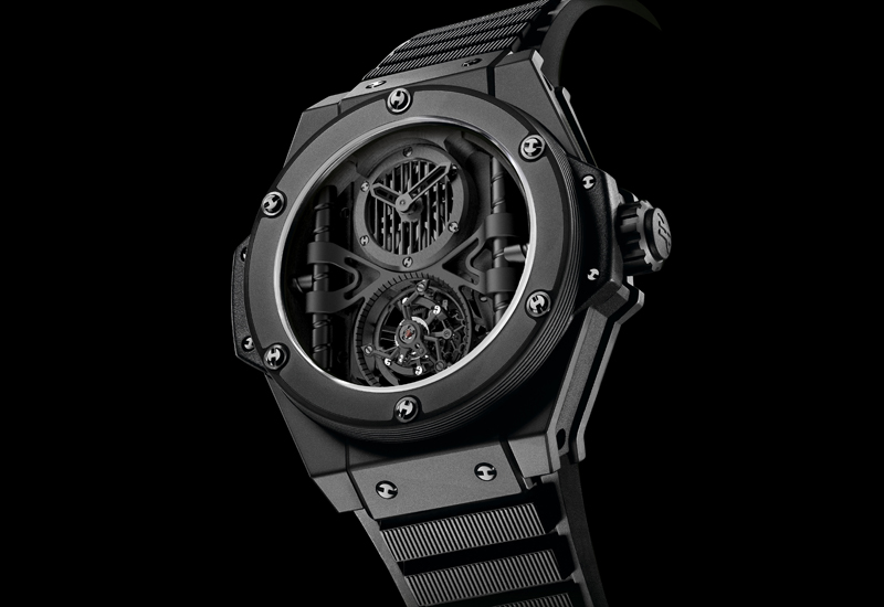"BASEL 2010: HUBLOT ""Tourbillon Manufacture"""