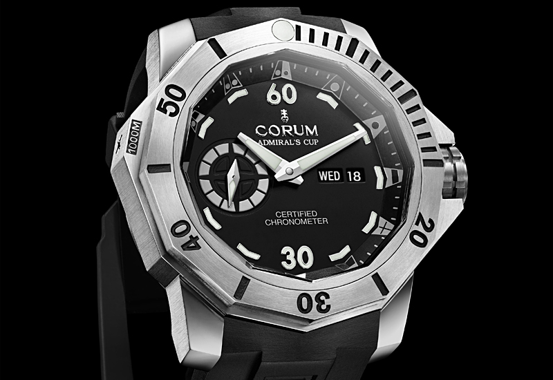 BASEL 2010: CORUM Deep Hull 48