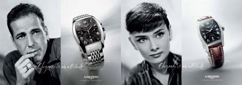 Longines - reklama
