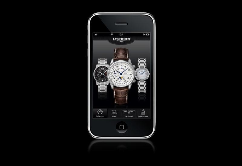 Aplikacja Longines na iPhone'a