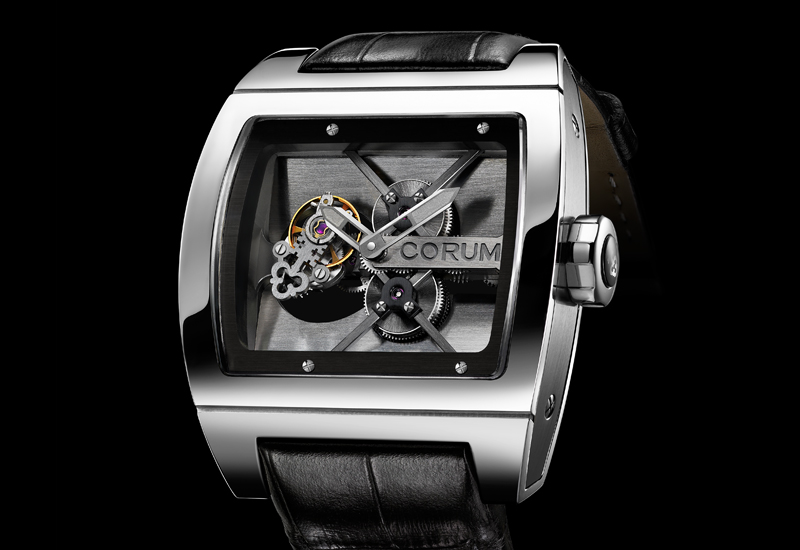 BASEL 2010: CORUM Ti-Bridge Tourbillon