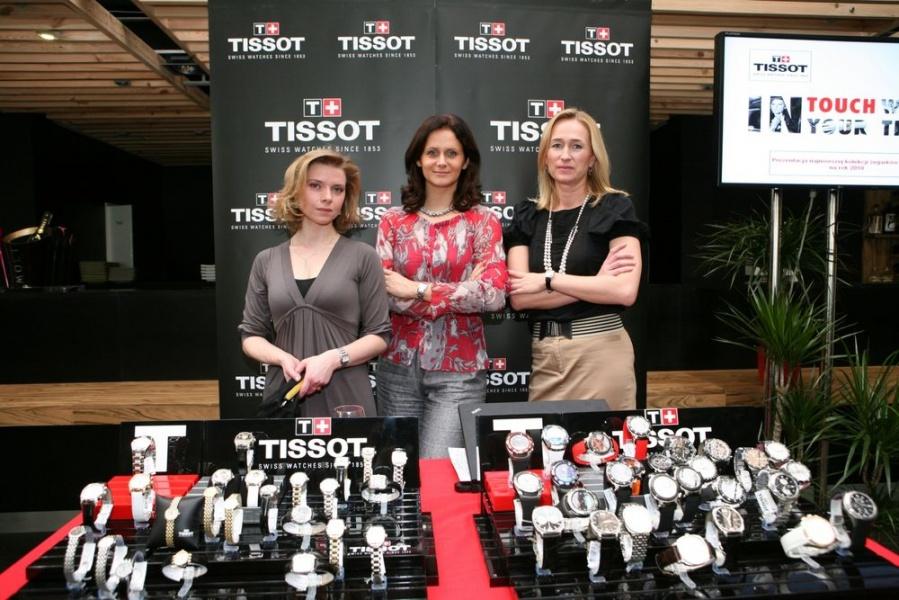 Kolekcja zegarków Tissot na 2010 rok