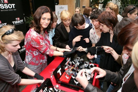Prezentacja kolekcji Tissot 2010