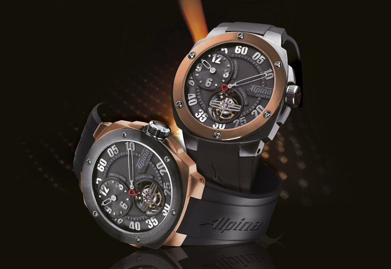 BASEL 2010: ALPINA Extreme Tourbillon Regulator