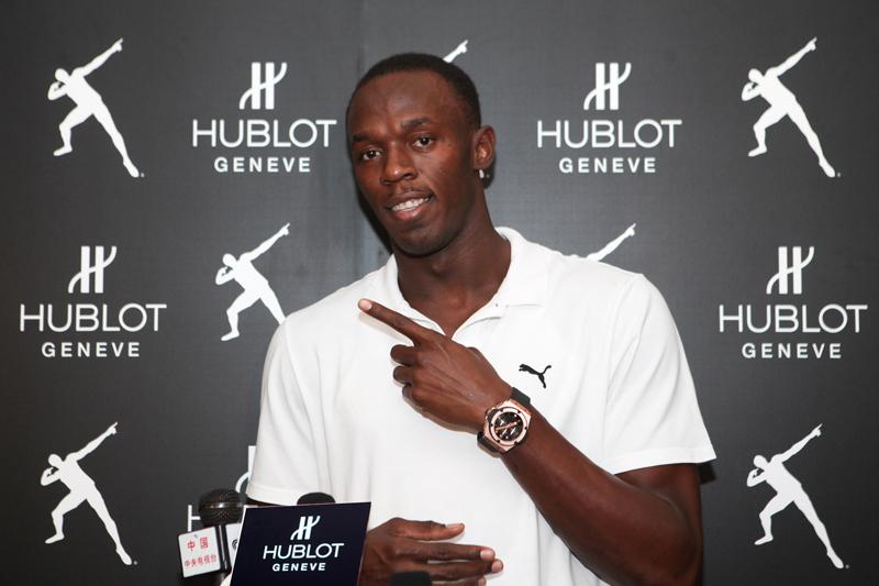 Usain Bolt ambasadorem HUBLOT