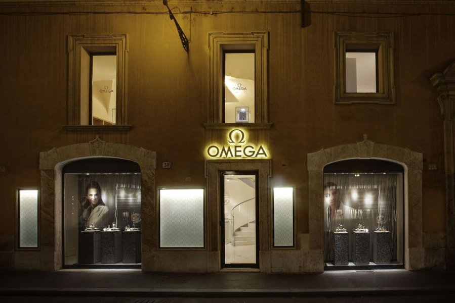 Nowy butik OMEGA w Rzymie