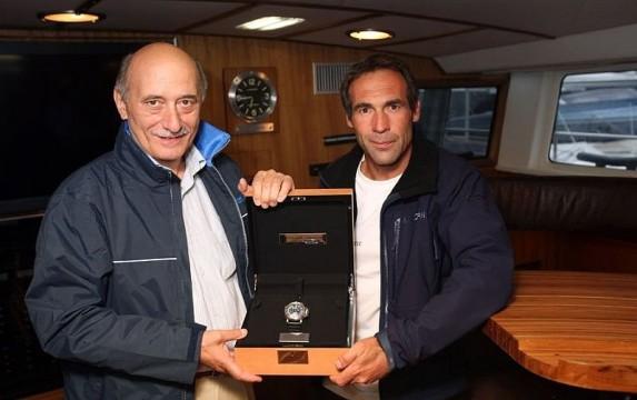 Angelo Bonati (CEO Officine Panerai) i Mike Horn