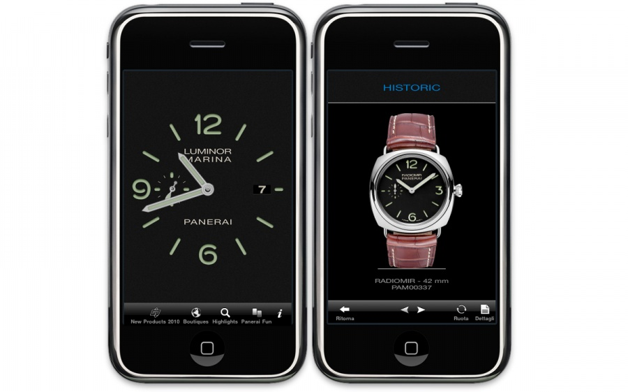 Officine Panerai na iPhone'a
