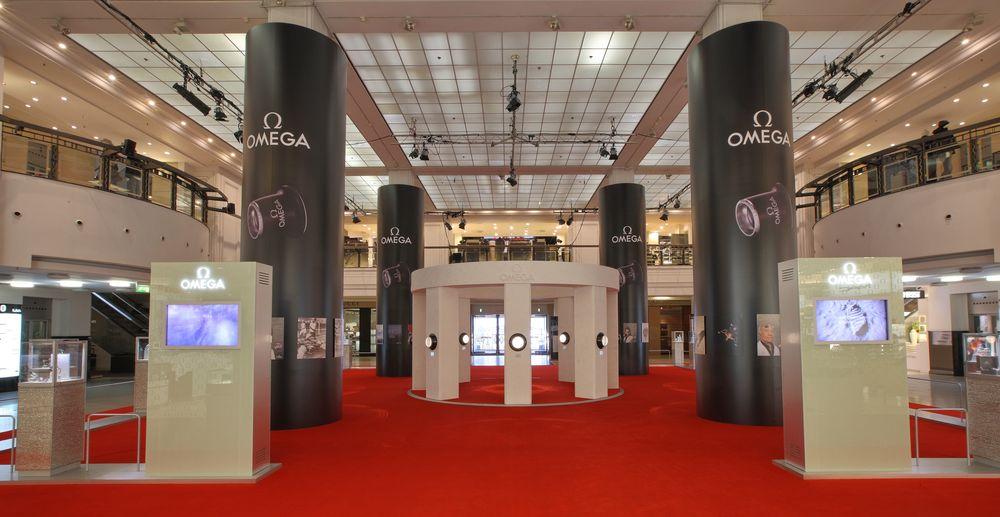 Wystawa OMEGA Co-Axial w Berlinie