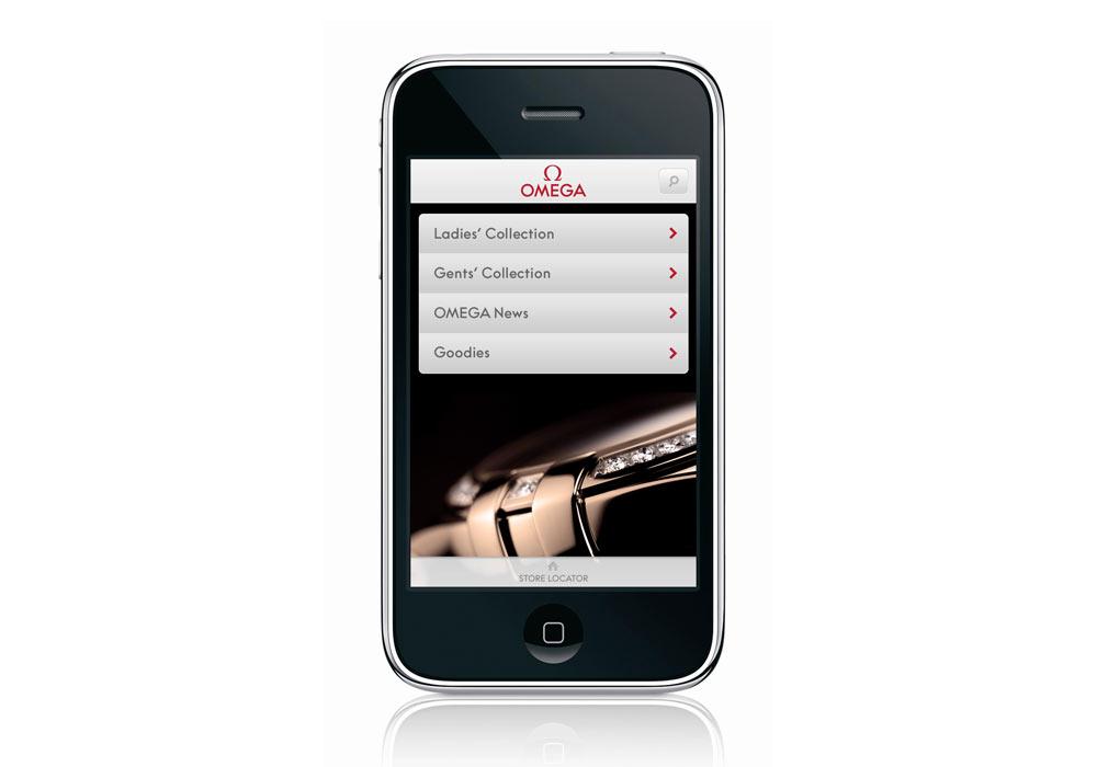 OMEGA wypuszcza aplikację na iPhone'a