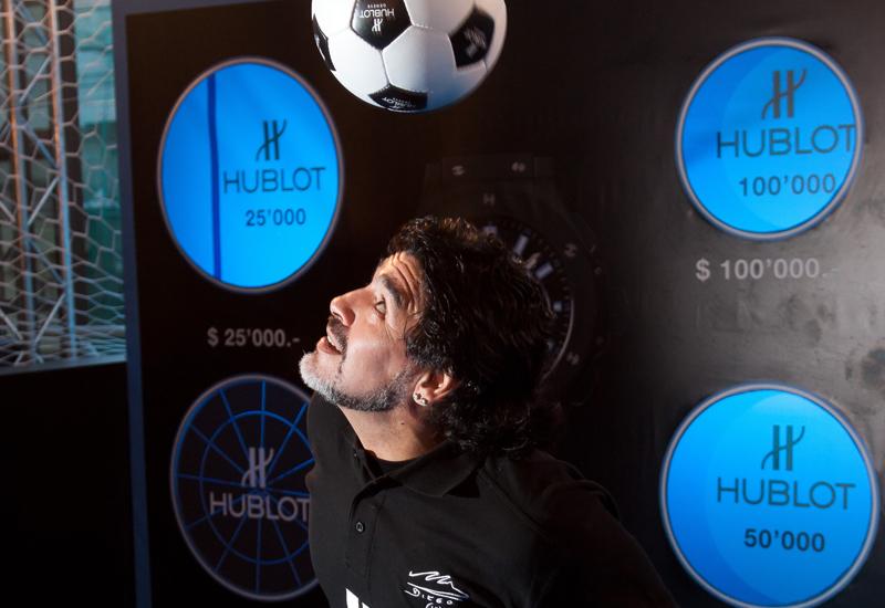 HUBLOT i Maradona charytatywnie