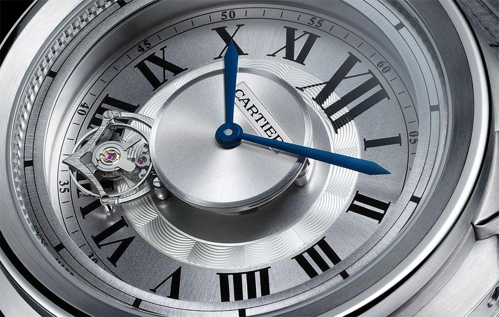 SIHH 2011: Calibre de Cartier Astrotourbillon titanium