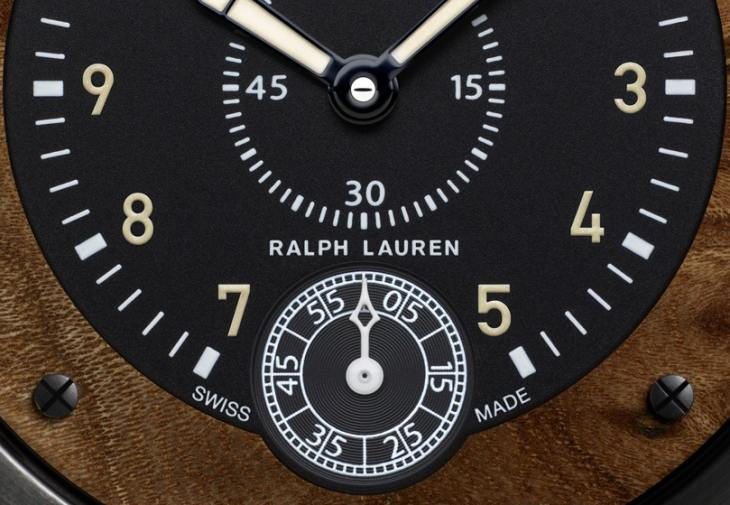 Ralph Lauren Sporting Wood Dial