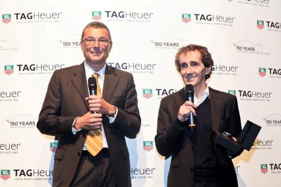 Jean-Christophe Babin i Alain Prost