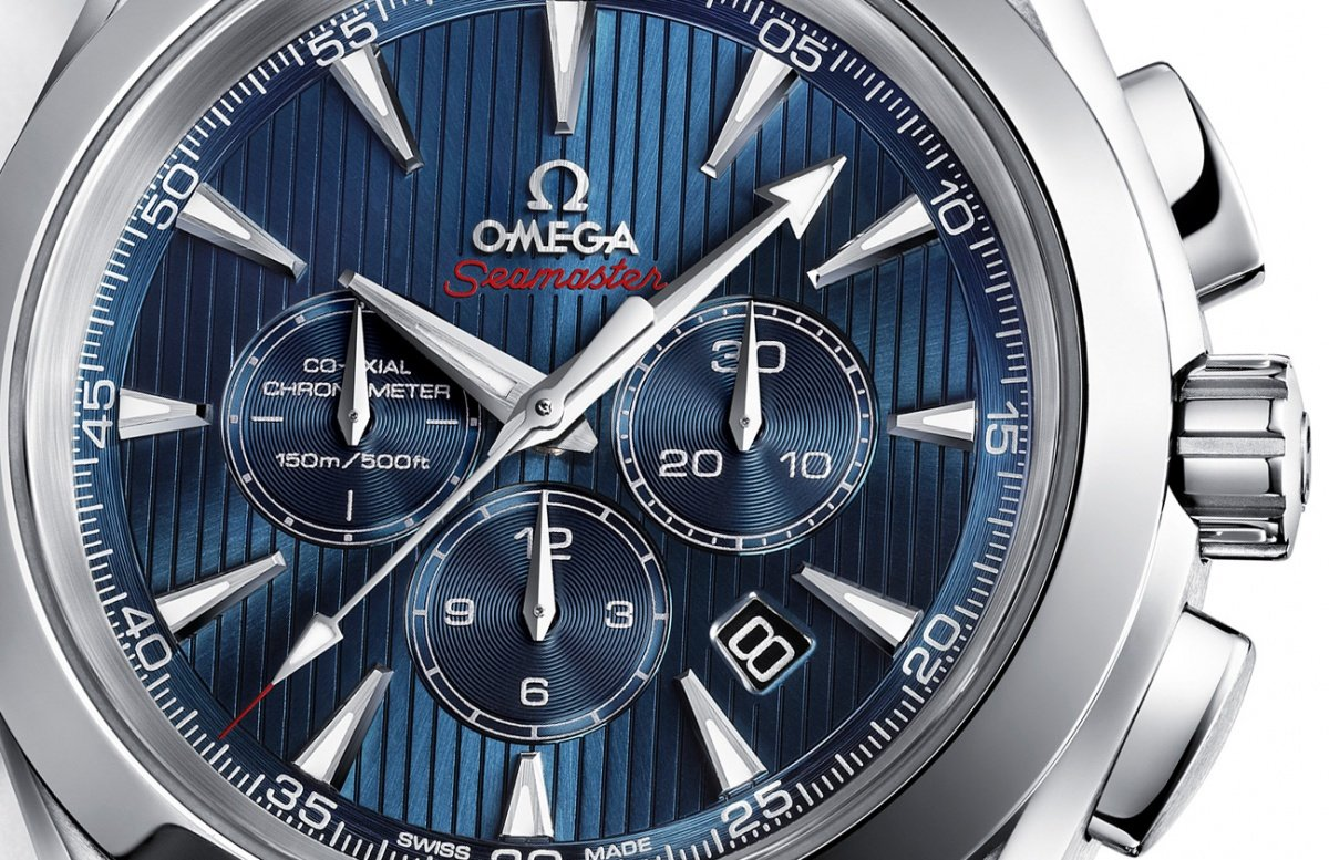 Omega Seamaster Aqua Terra 44 London Chronograph