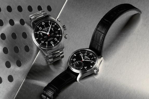 Alpina Startimer Pilot Chronograph i Manufacture