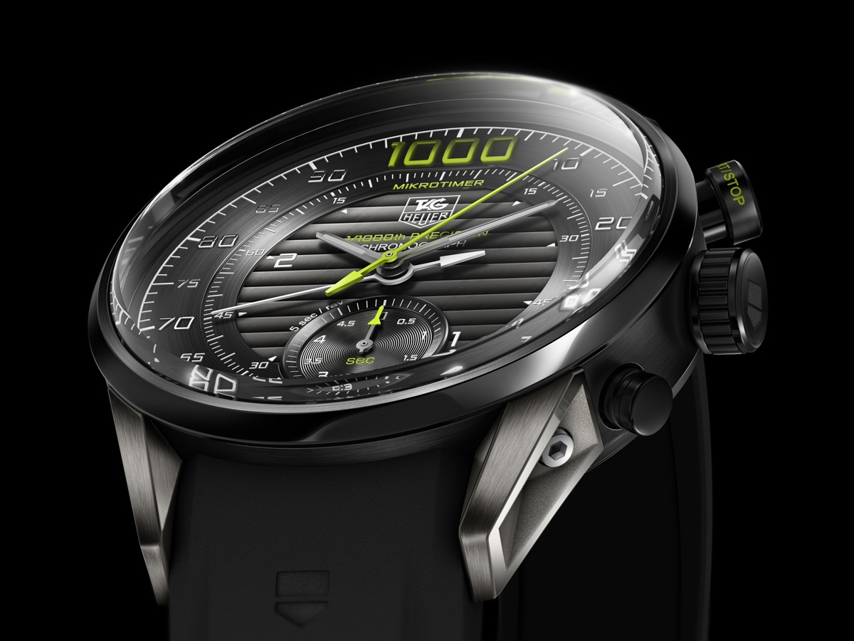 Basel 2011: TAG Heuer MIKROTIMER Flying 1000 Concept Chronograph