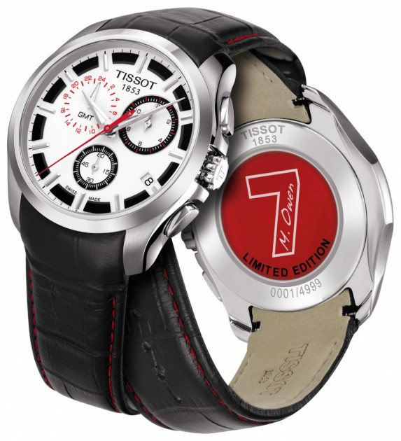 Tissot Couturier GMT Michael Owen Limited Edition 2011
