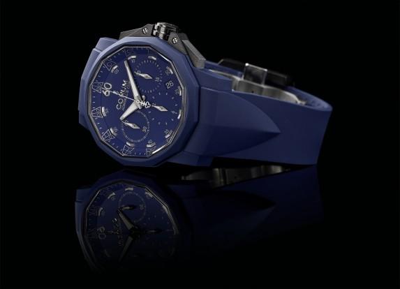 Admiral's Cup Challenger 44 Chrono Rubber w wersji niebieskiej