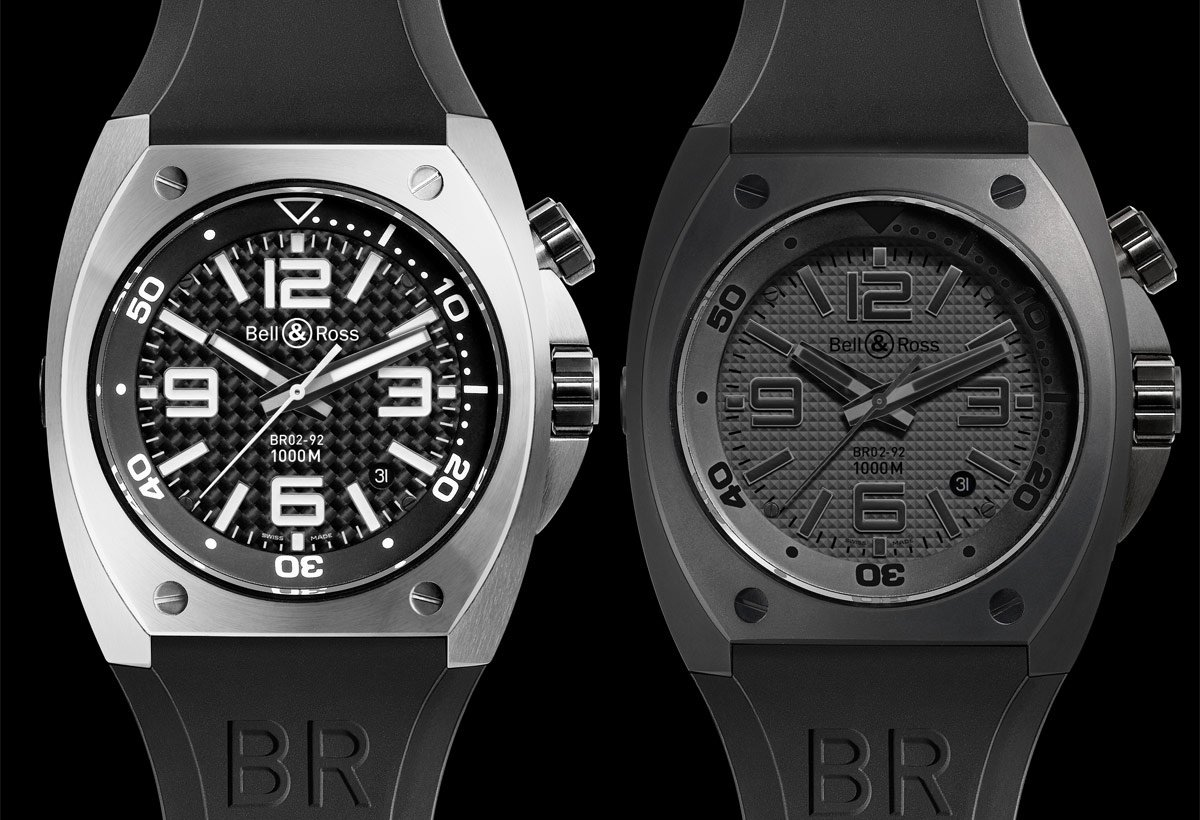 BR 02 Steel & BR 02 Phantom