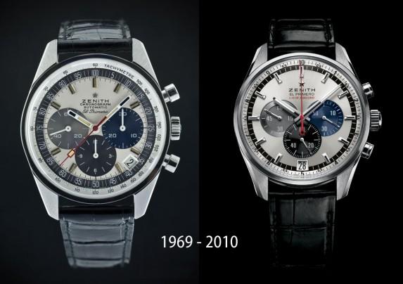 El Primero z 1969 i 2010 roku