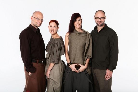 Alexandre Peraldi (po lewej) z ekipą projektantów
