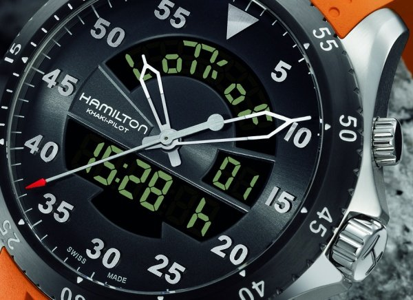 Hamilton Khaki Flight Timer