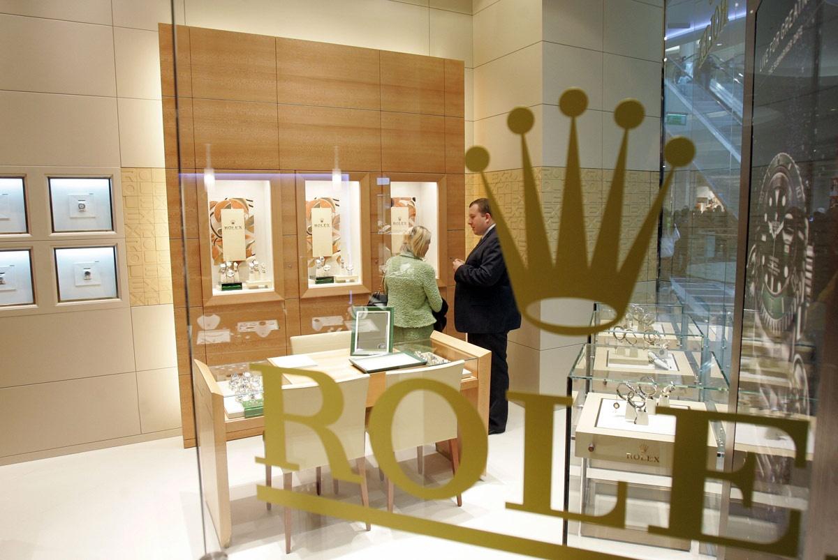 Butik marki Rolex w Katowicach