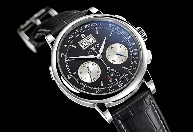 SIHH 2012: LANGE Datograph UP/DOWN