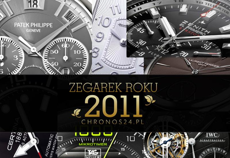 "Zegarek Roku 2011 – ""a nagrody powędrują do…"""
