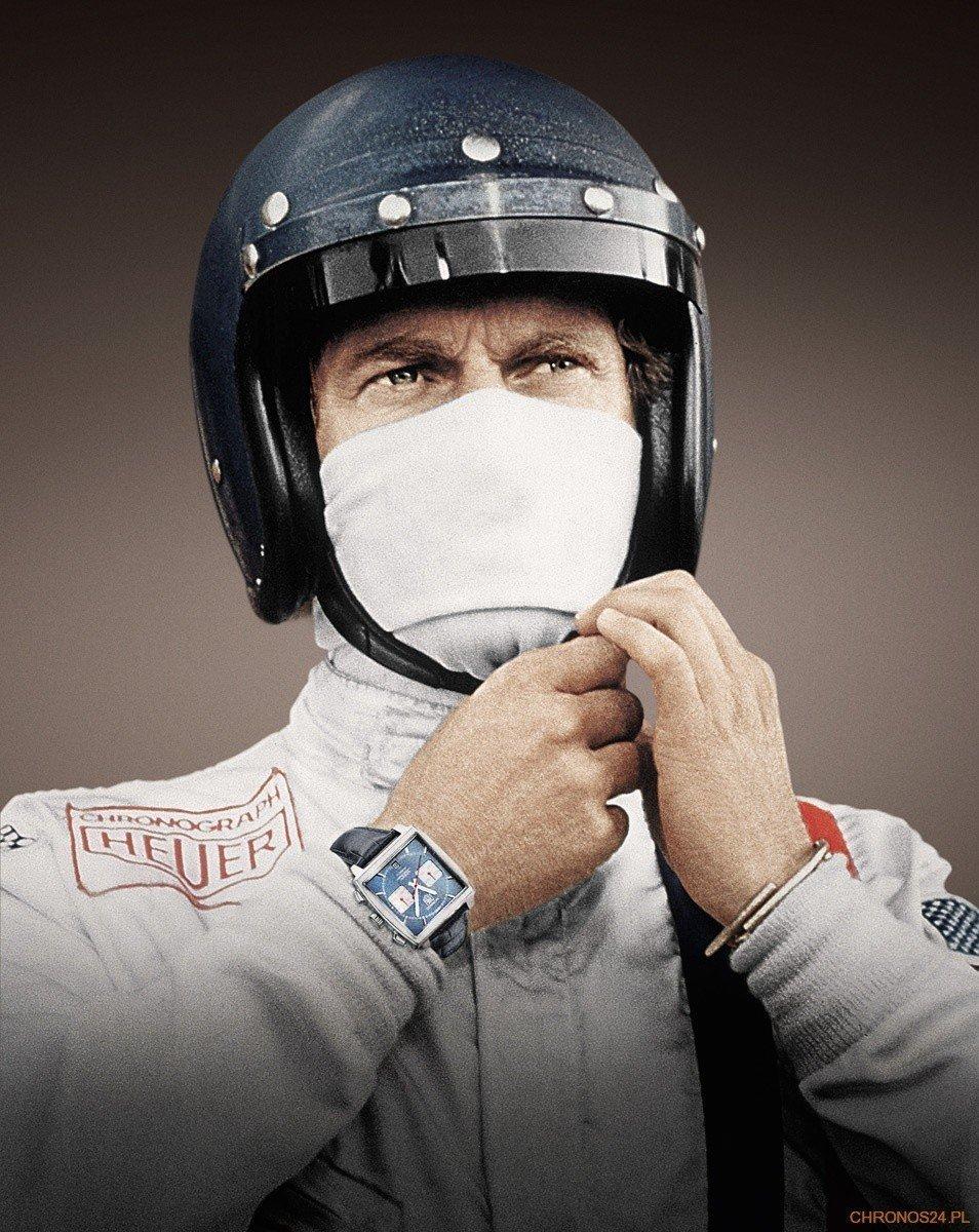 Steve McQueen i jego Heuer Monaco