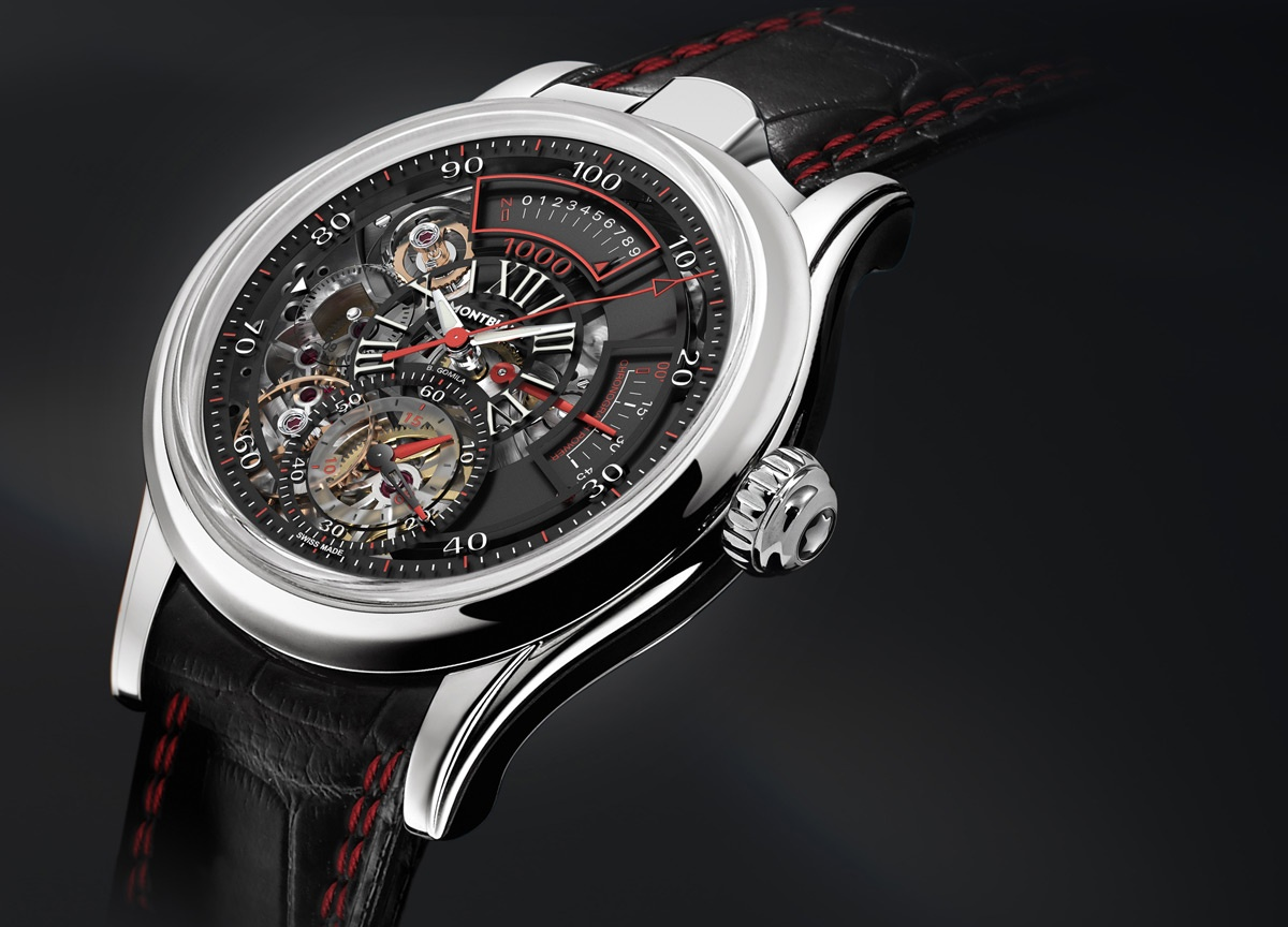 SIHH 2012: Montblanc TimeWriter II Bi-Fréquence 1.000